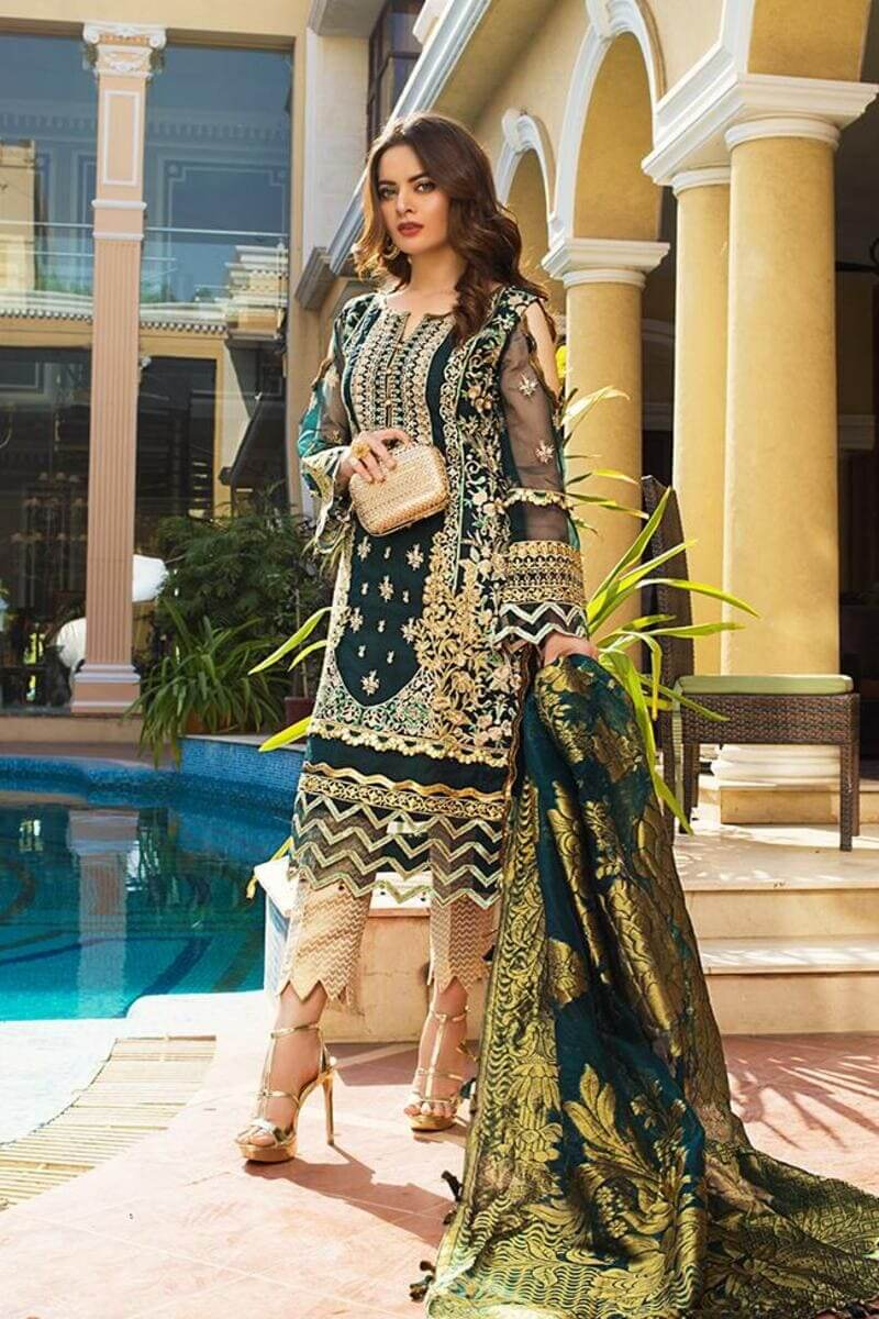 AZ Formals Wedding Edition 2021 by Al Zohaib Pakistani Suits AZF-07