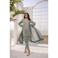 Azure Festive Collection 2021 Pakistani Suits D-02 Deep Ocean