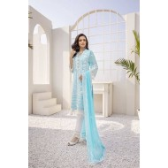 Azure Festive Collection 2021 Pakistani Suits D-03 Icy Breeze