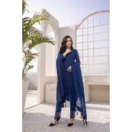 Azure Festive Collection 2021 Pakistani Suits D-05 Sapphire Deep
