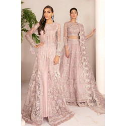 Chantelle Vol 8 by Baroque Salwar Kameez 01-Pink Salt