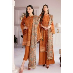 Chantelle Vol 8 by Baroque Salwar Kameez 08-Crystal Sugar