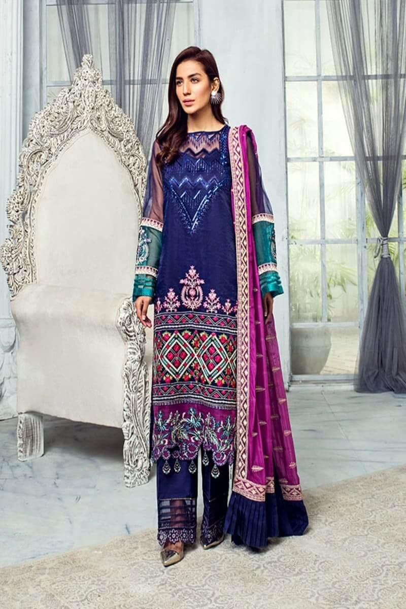 Chimere Luxury Chiffon Collection by Serene Premium S-1024