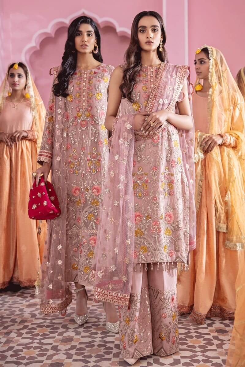 Banaras Chiffon Collection 2021 by Iznik Pakistani Suits IB-03