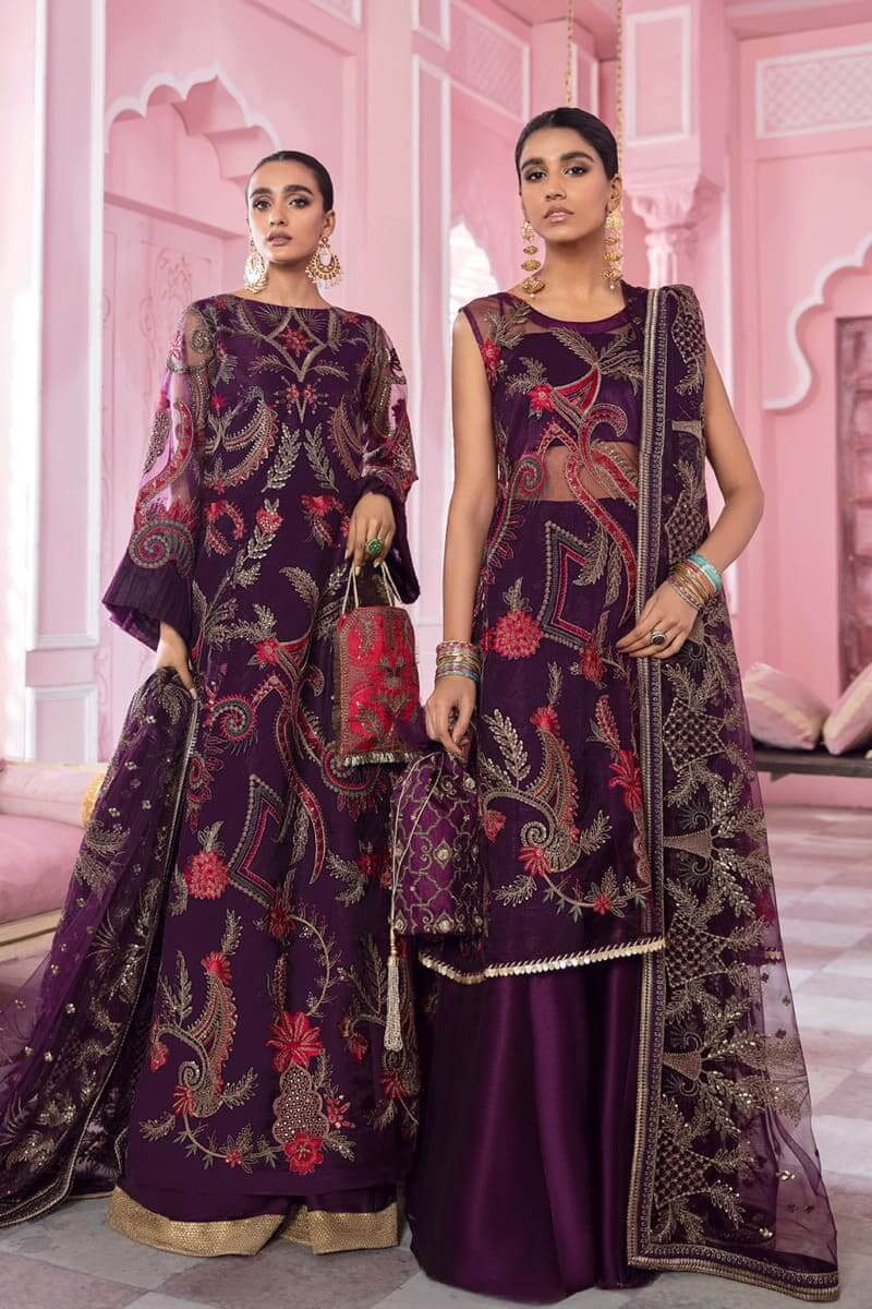 Banaras Chiffon Collection 2021 by Iznik Pakistani Suits IB-05