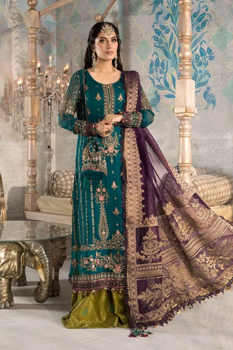 Mbroidered Eid 2021 By MariaB Pakistani Suits BD-2202