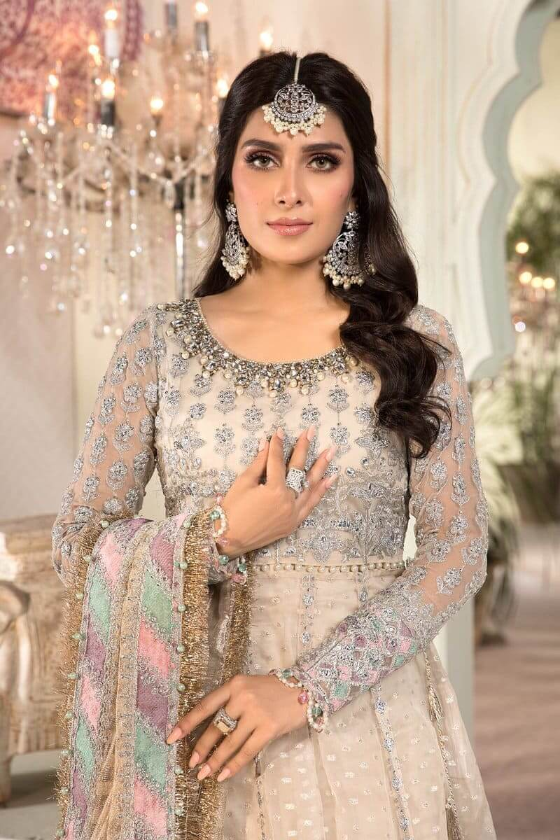 Mbroidered Eid 2021 By MariaB Pakistani Suits BD-2208