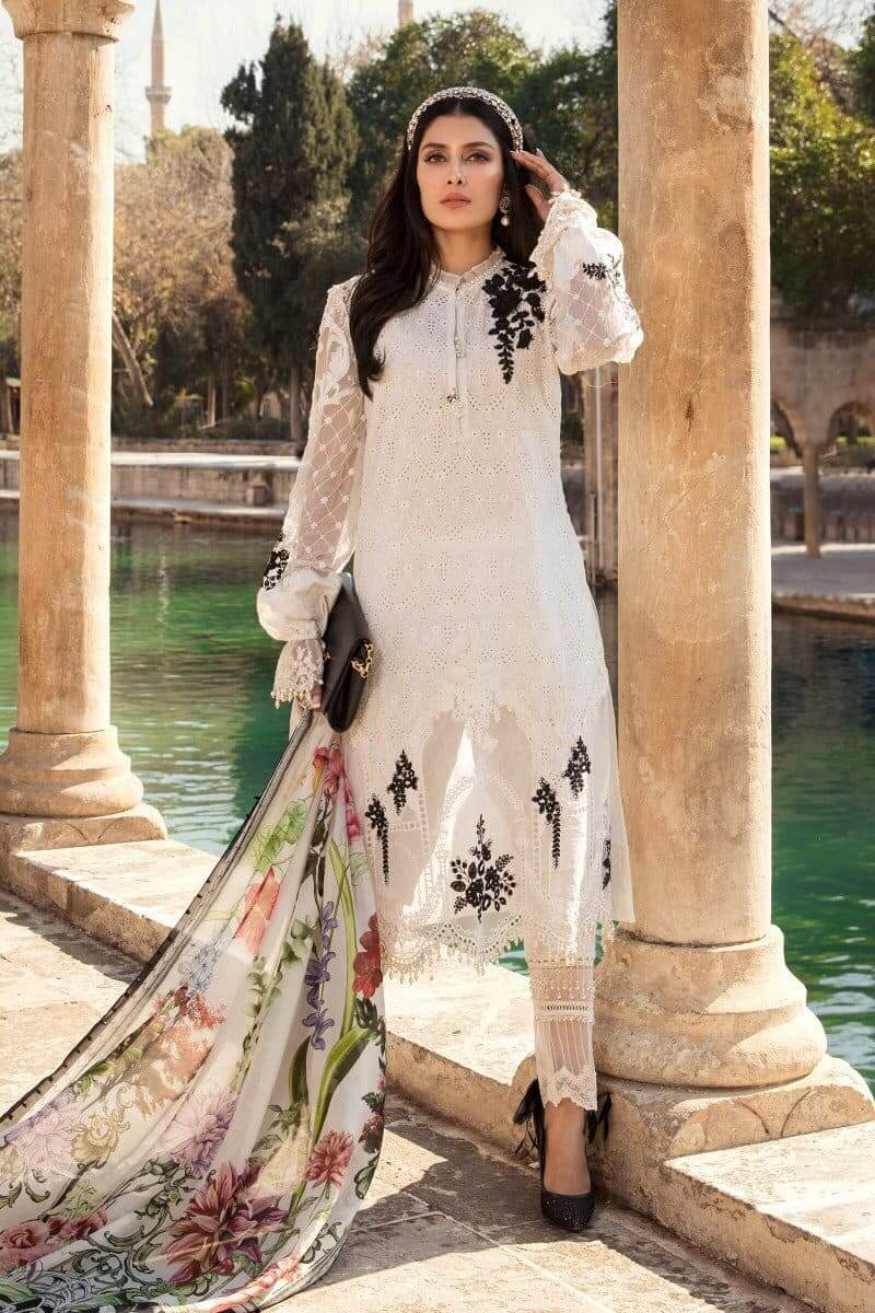Mariab Lawn Summer Collection 2021 Designer Suits D-2101-A
