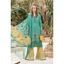 Mariab Lawn Summer Collection 2021 Designer Suits D-2107-B