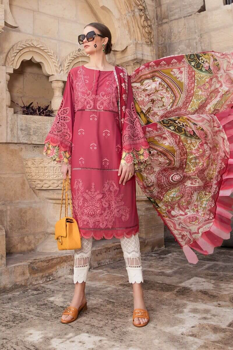 Mariab Lawn Summer Collection 2021 Designer Suits D-2108-B