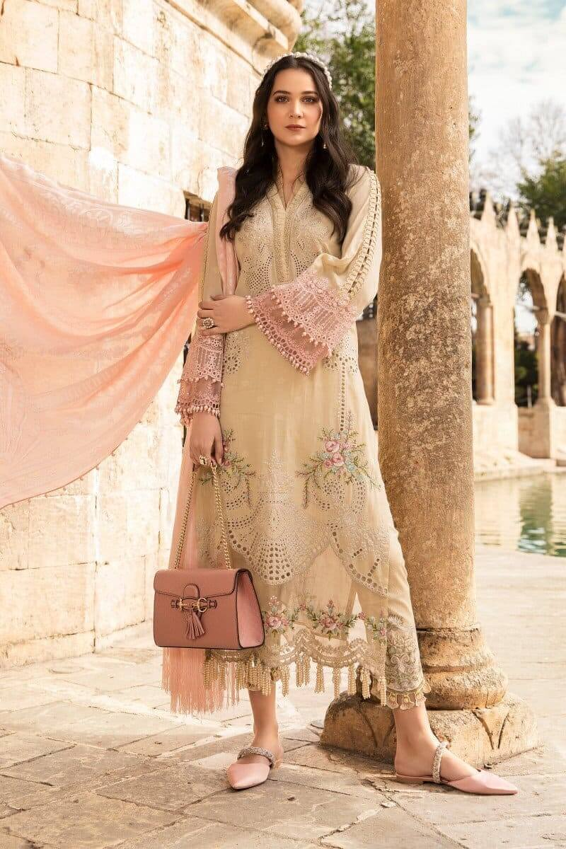 Mariab Lawn Summer Collection 2021 Designer Suits D-2109-B