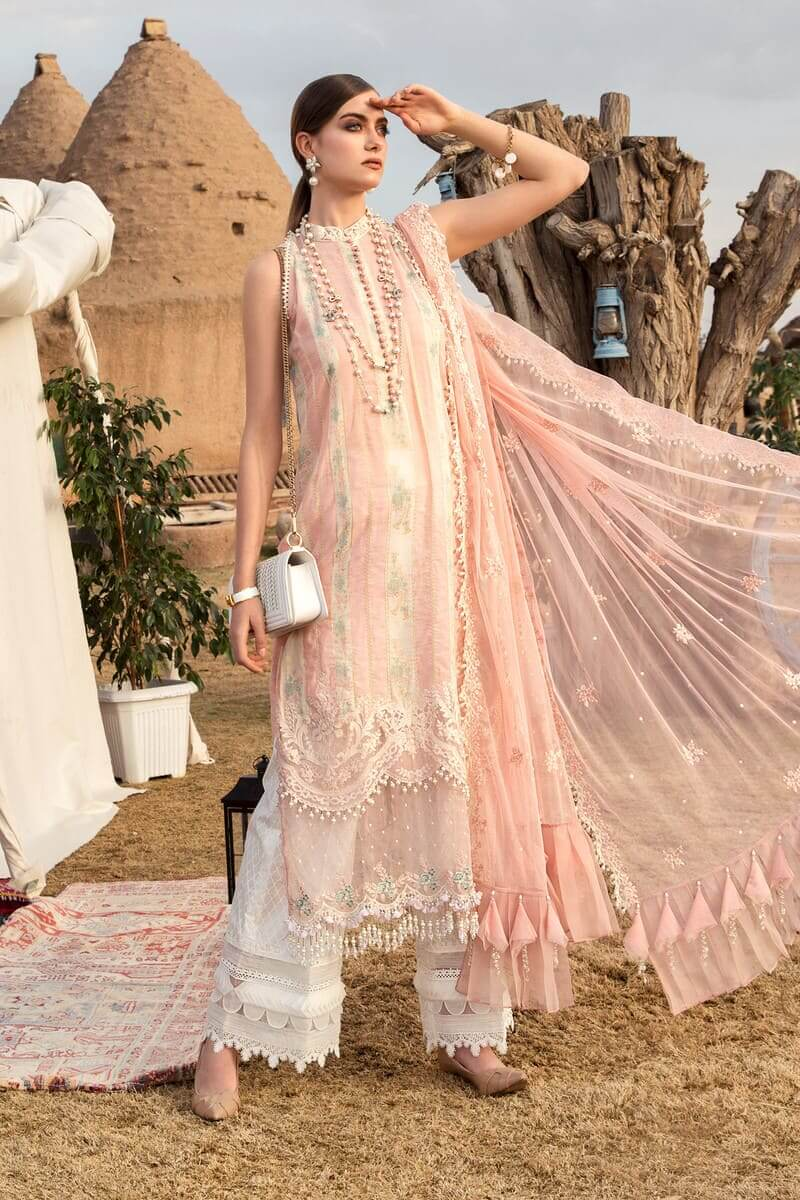 Mariab Lawn Summer Collection 2021 Designer Suits D-2110-B