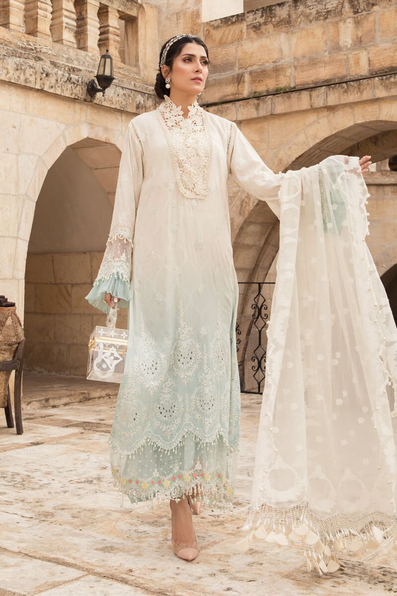 Mariab Lawn Summer Collection 2021 Designer Suits D-2111-A
