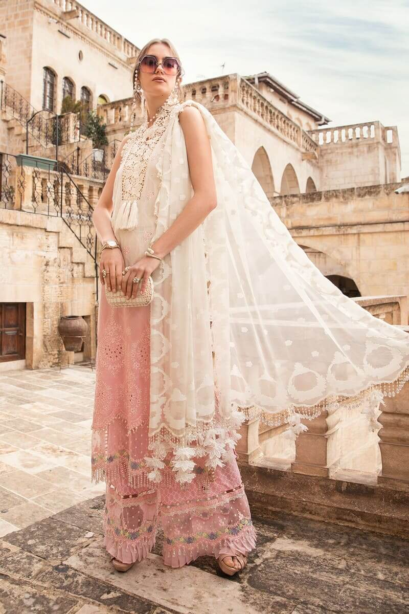Mariab Lawn Summer Collection 2021 Designer Suits D-2111-B