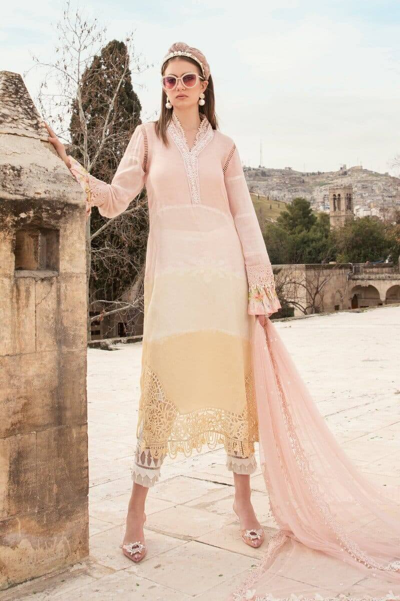 Mariab Lawn Summer Collection 2021 Designer Suits D-2112-A