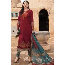 Mariab Lawn Summer Collection 2021 Designer Suits D-2113-B