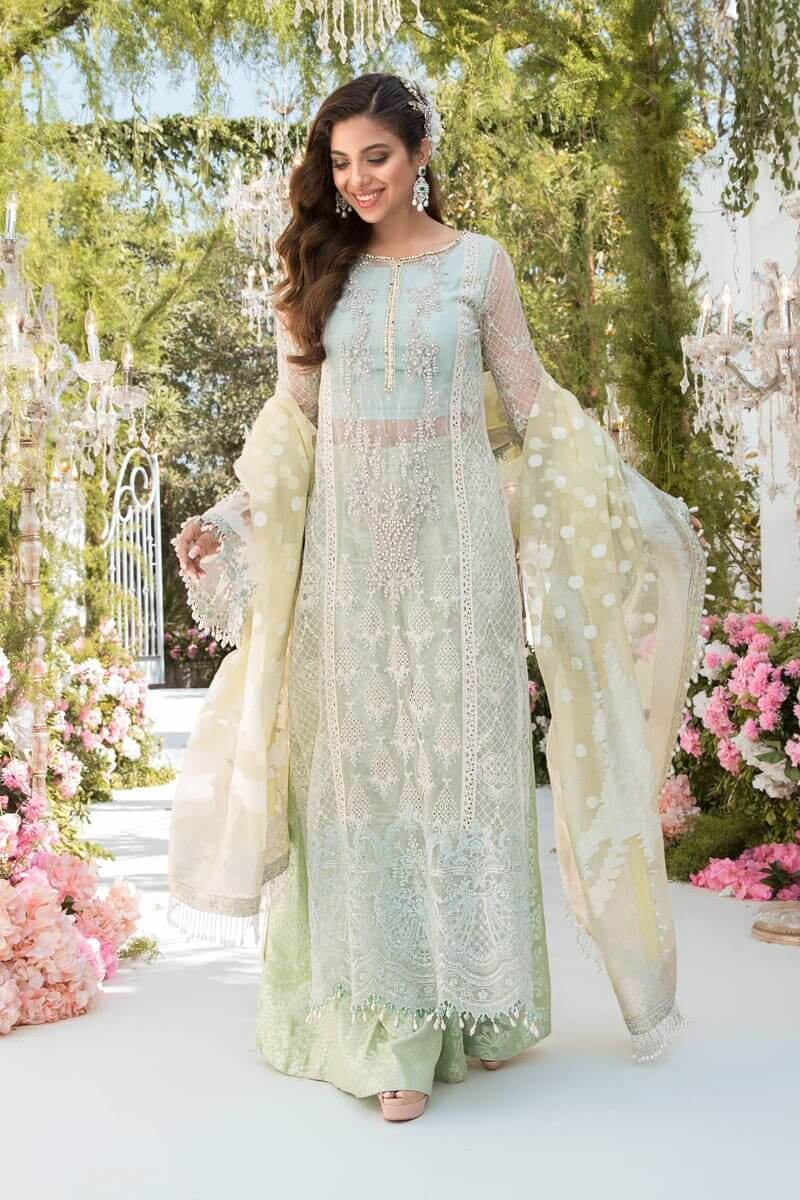 Mbroidered Eid 2021 By Mariab Pakistani Suits BD-2102