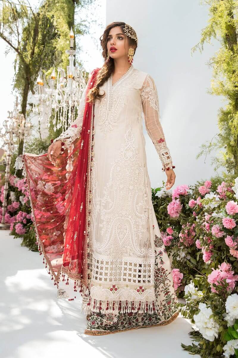 Mbroidered Eid 2021 By Mariab Pakistani Suits BD-2103