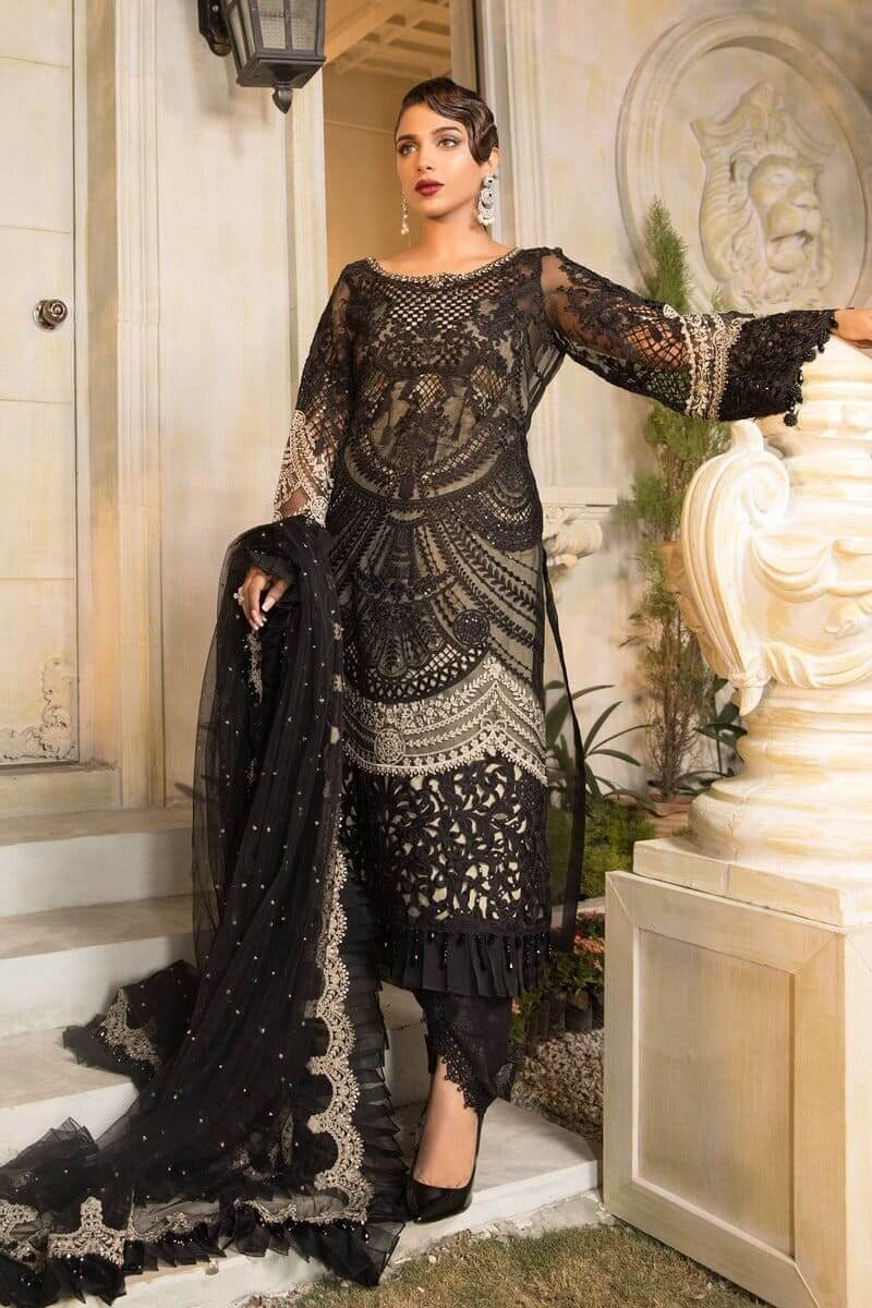 Mbroidered Eid 2021 By Mariab Pakistani Suits BD-2106