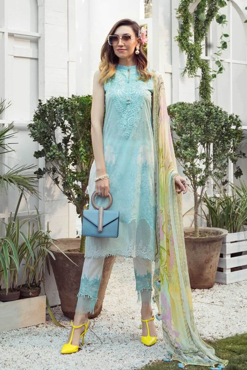 Mariab MPrints Summer Collection 2021 MPT-1002A