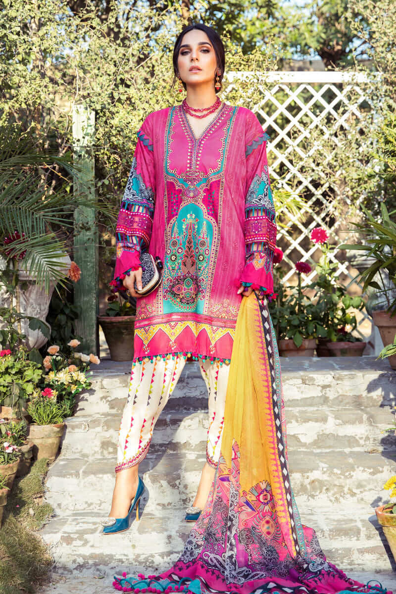 Mariab MPrints Summer Collection 2021 MPT-1008B