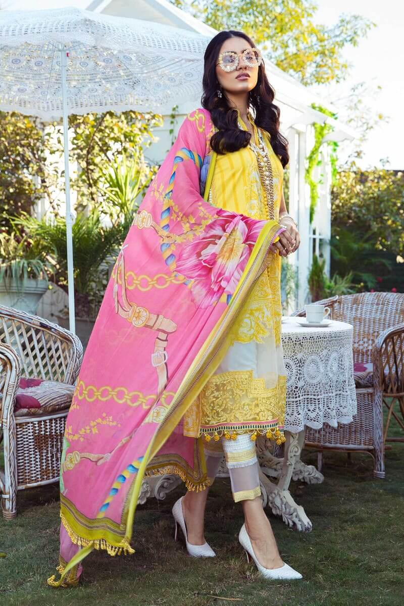 Mariab MPrints Summer Collection 2021 MPT-1009A