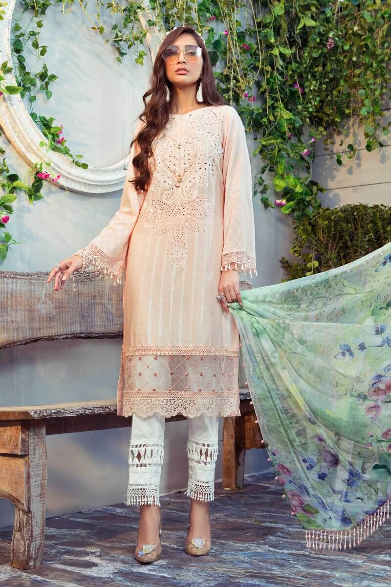 Mariab MPrints Summer Collection 2021 MPT-1011B