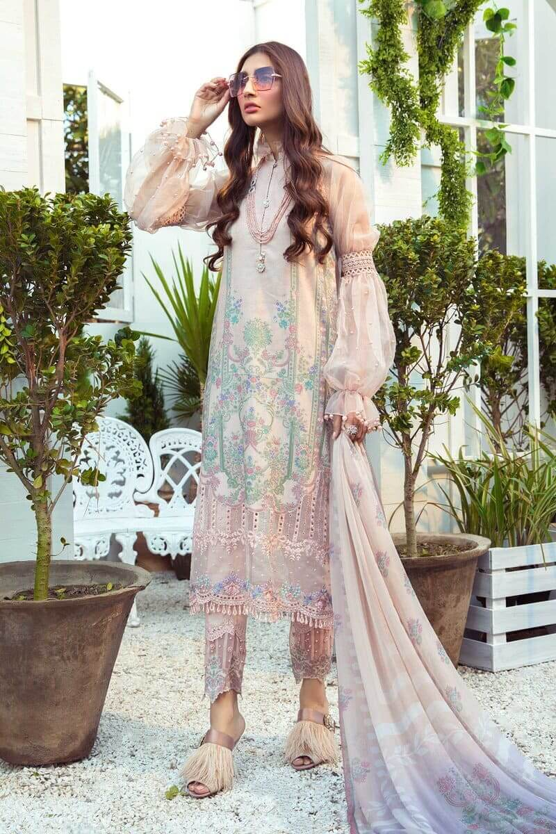 Mariab MPrints Summer Collection 2021 MPT-1012A