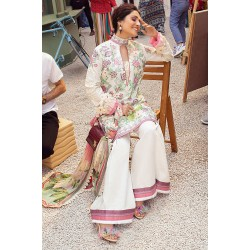 Mushq Summer Lawn 2021 Pakistani Suits MLL-03 TEA ROSE