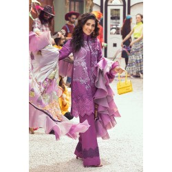 Mushq Summer Lawn 2021 Pakistani Suits MLL-05 CRUSHED GRAPE