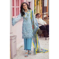Mushq Summer Lawn 2021 Pakistani Suits MLL-07 AQUAMARINE