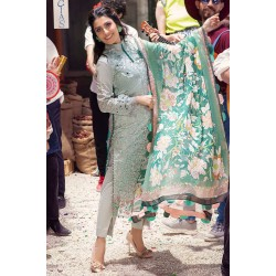 Mushq Summer Lawn 2021 Pakistani Suits MLL-08 SUMMER GLACIER