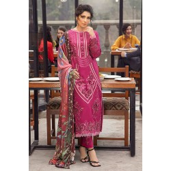 Mushq Summer Lawn 2021 Pakistani Suits MLL-12 COSTA CHIC