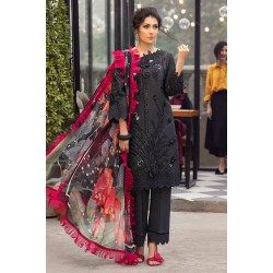 Mushq Summer Lawn 2021 Pakistani Suits MLL-14 MOONLESS NIGHT