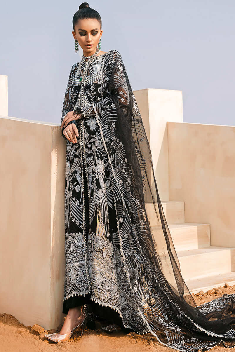 Trousseau De Luxe Wedding 2021 by Mushq Pakistani Suits ML21-6
