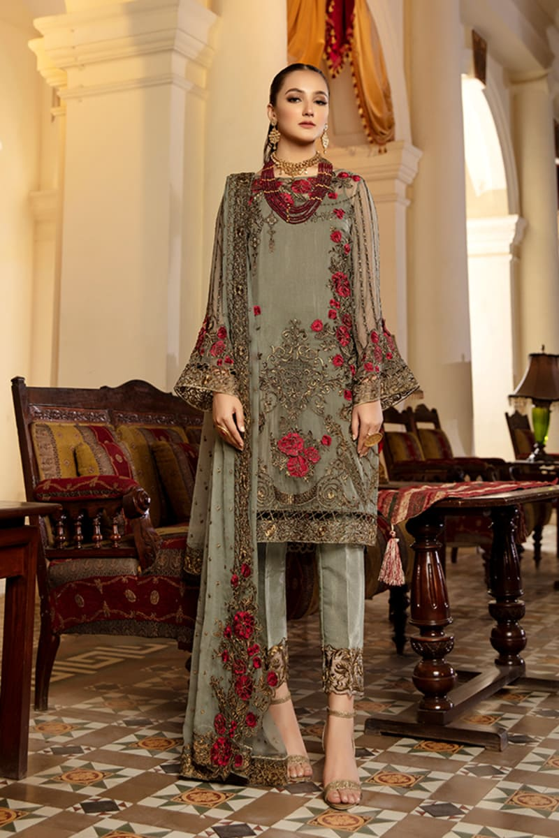 Imrozia Regence Collection 2021 Pakistani Suits I-126