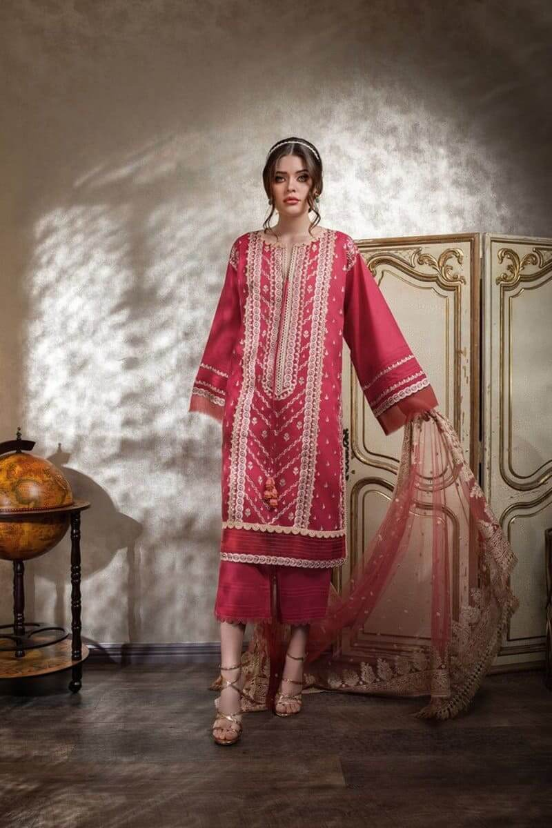 Luxury Lawn 2021 by Sobia Nazir Pakistani Suits Design 11A