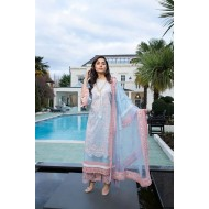 Luxury Lawn 2021 by Sobia Nazir Pakistani Suits Design 12A
