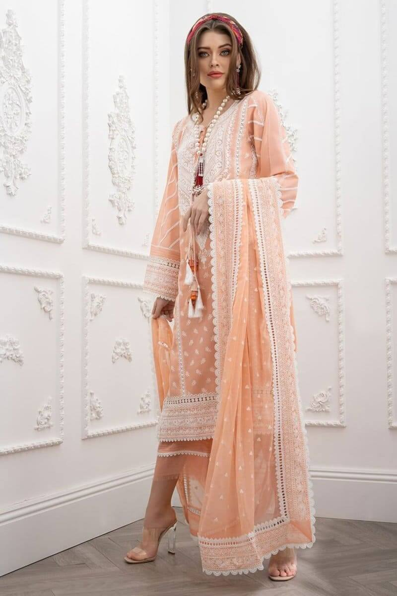 Luxury Lawn 2021 by Sobia Nazir Pakistani Suits Design 13A
