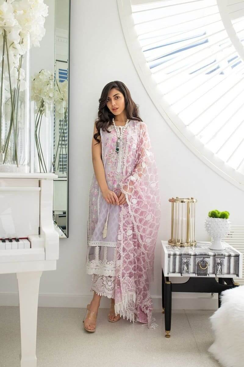 Luxury Lawn 2021 by Sobia Nazir Pakistani Suits Design 15B