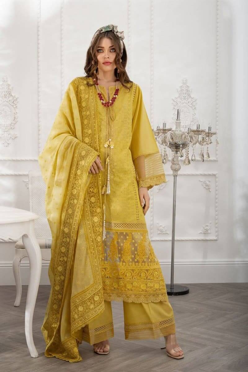 Luxury Lawn 2021 by Sobia Nazir Pakistani Suits Design 3B