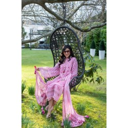 Luxury Lawn 2021 by Sobia Nazir Pakistani Suits Design 4A