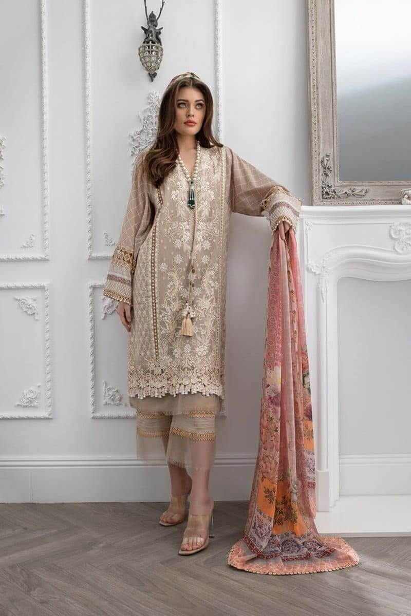Luxury Lawn 2021 by Sobia Nazir Pakistani Suits Design 7A