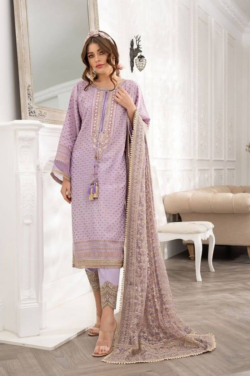 Luxury Lawn 2021 by Sobia Nazir Pakistani Suits Design 8B