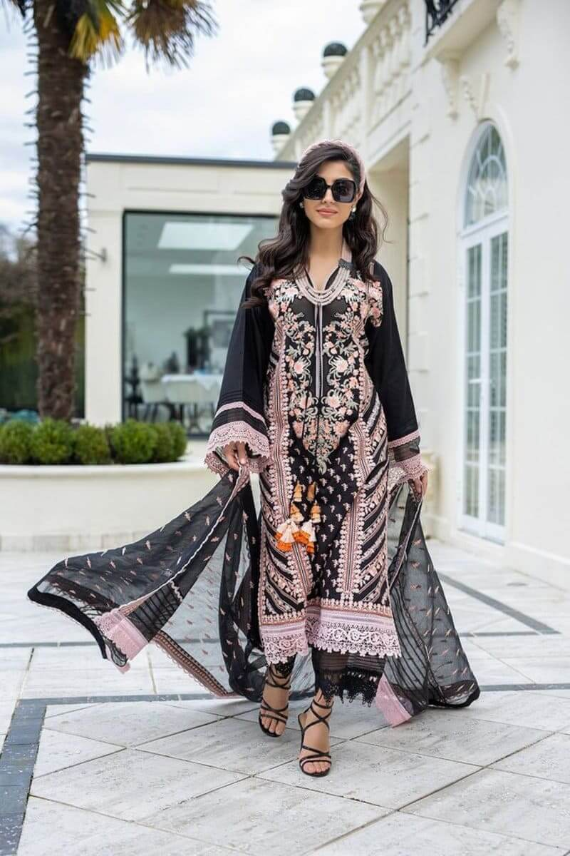 Luxury Lawn 2021 by Sobia Nazir Pakistani Suits Design 9A