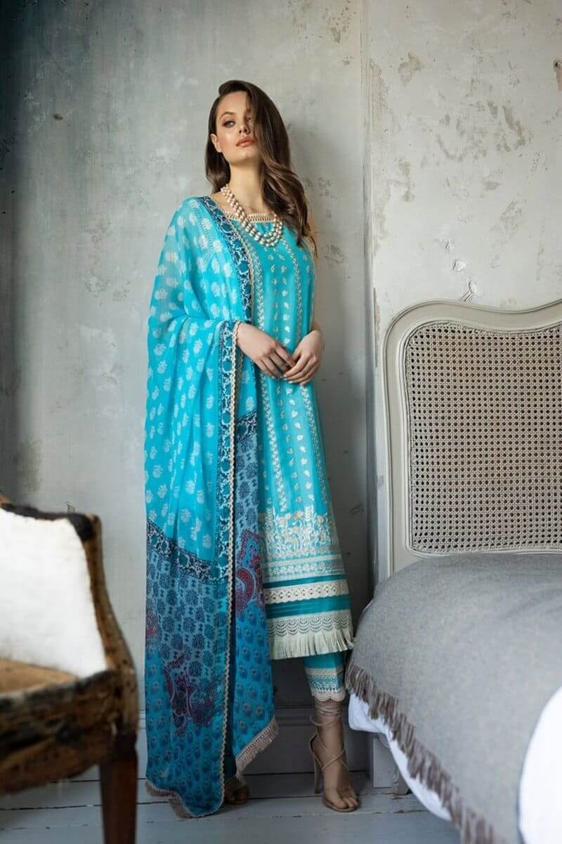 Sobia Nazir Vital Lawn 2021 Pakistani Suits Design 4A
