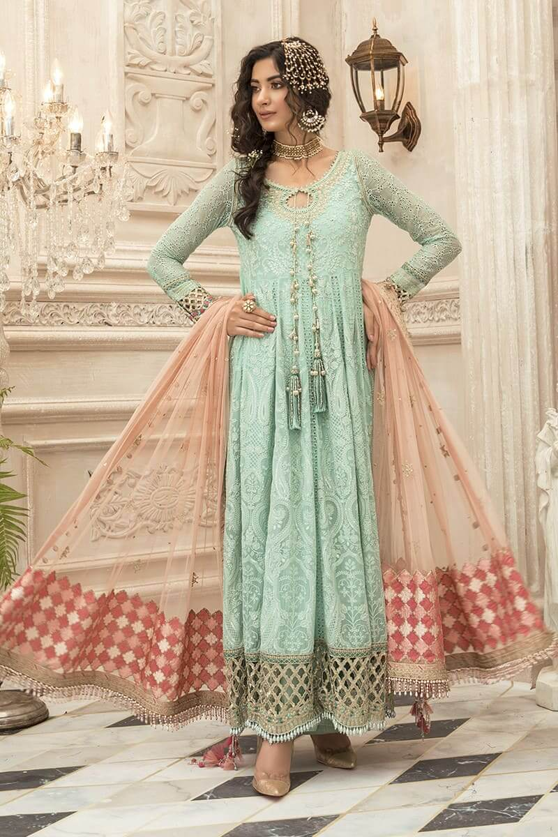 Maria.b Mbroidered Eid 2020 Pakistani Summer Collection BD-1908