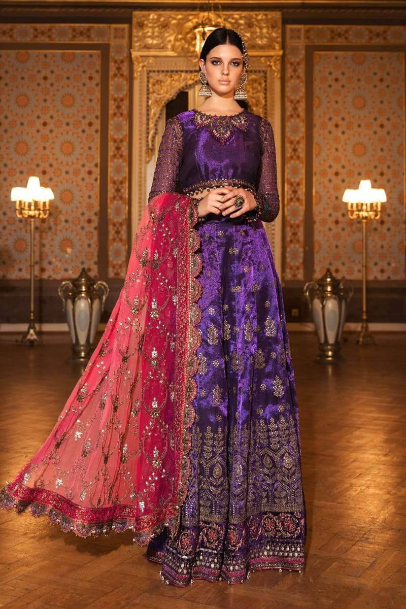 Mariab Mbroidered Wedding Edition 2020 Pakistani Suits BD-2007