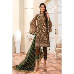 Pakistani Suits Maryam's Summer Collection Vol-17 M-60 Sepia Luxe
