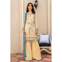 Pakistani Suits Maryam's Summer Collection Vol-17 M-61 Dutch Champagne